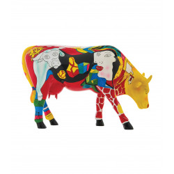 Vache Hommage to Picowso's African Period